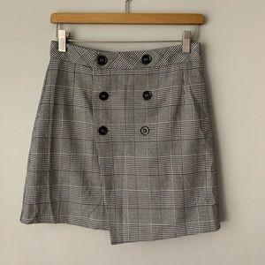 NWOT zara plaid skirt